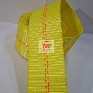 Dây Đai Polyster 50mm – Vàng Sọc Đỏ – TVP